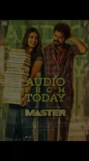 #master #audiolaunch