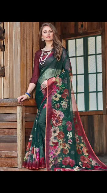 Steal the show with the ethereal charm of this #partywear #saree available at manndola.com !!  Shop this style from @manndola for $43 USD only. Follow the link :- https://bit.ly/2TQg9ev  Search for design code :- BLST-25234  Mega Sale is Live : Flat 50% OFF sitewide and Free Shipping worldwide. Use Coupon: FREESHIP   #indiantraditionalwear #newtrends #handloomsaree #indianethnicwear #traditional_look #ootd #flat50percentoff #fashion #desifashion #indiancouture #sari #indiandrapes #indiandesigners #fashionblogger #dresstoimpress #atbestprice #anarkalisonline #punjabiwedding #pakistanisuits #onlineshopping #buyonline #womenswear #clothingbrand #designerblouse #shaadisaga #asianattire #asianwedding #manndola