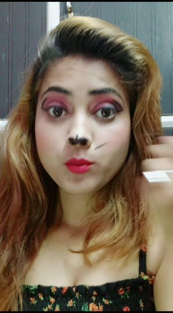 my cat makeup #makeup