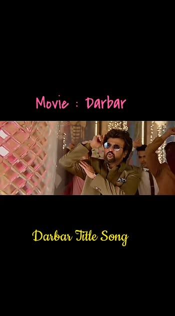 #darbar #rajinikanth #telugusongs #latesttelugusongs #nivethathomas