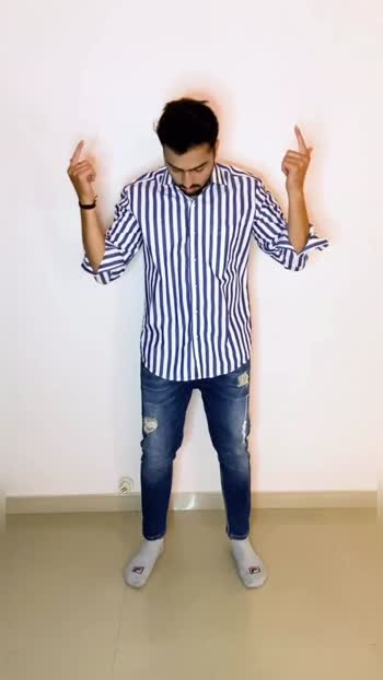 Confused what to wear for a Party or a Casual meet up.? Check out this Video where I'm Styling Stripes Shirt with Black jeans.  . . #fashion #fashionwear #outfit #outfitidea #stripes #stripe #stripesformen #fashionlook #blogger #video #videotutorial #denim #jeans #black #sunglasses #roposo #instagram #videooftheday