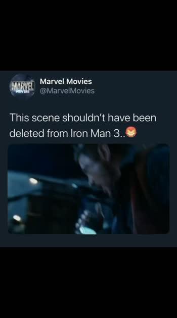#ironman #ironman3 #marvelcomics #avengers #deletedscene