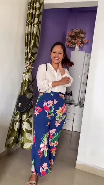 Date 24.03.2020 Outfit ideas with printed trousers!! #outfitoftheday #outfitideas #outfitinspo #fashionblogger #fashionbloggersofindia