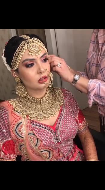 #bridalwear #bridaljewelry #bridalmakeup