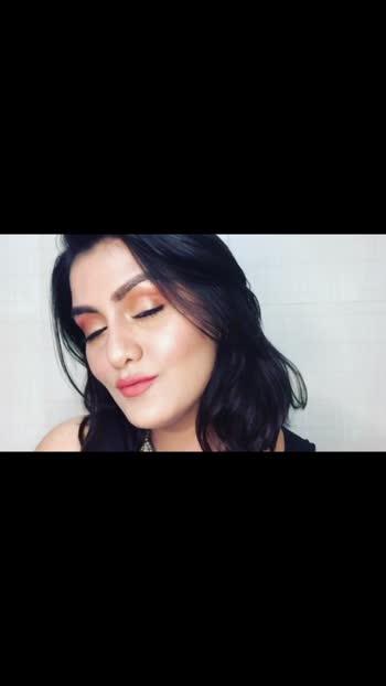 #roposo #gujjugirl #gujjukisena #makeuptutorial #makeup #makeuplover #glambypoojagangadia #roposostar #gujjuroposo #beautyblogger #beautyinfluencer #youtuber #gujjuglamgirl #makeupbyme