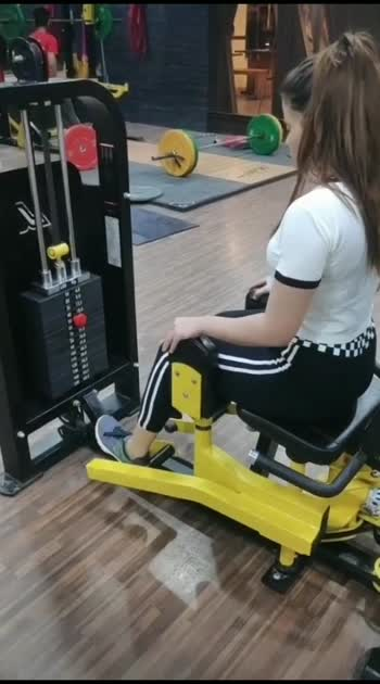 machine leg fly for better butt for keeping it in shape #roposofitness