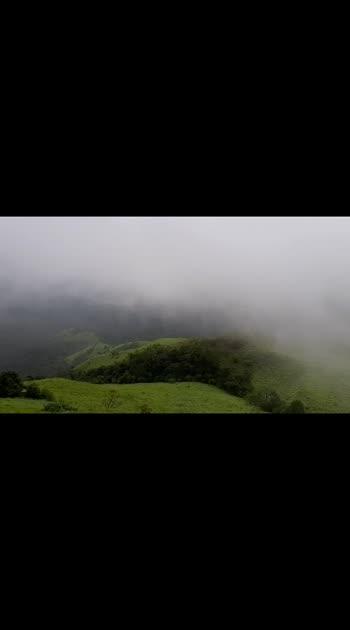 #travel #roposostars #roposo #kannada #travelvidoes #travelblogger #travelvibes #clouds #nature #mountains #newtalent #roposostars #roposorisingstars #potentialrisingstars