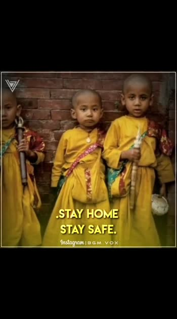 stay home stay safe.