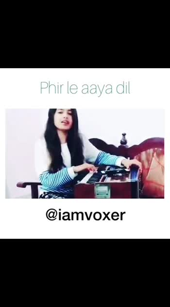 Very sweet voice 😇! Tag a Friend 😍 • • • Follow me ( @iamvoxer )🎶 •. •. Artist( @sumedha_music_lover )♥️ ________________________________#arijitsingh #phirleaayadil #musiclover #hindicoversong #lovesongs  #romanticquotes #romanticsongs💕🎧 #indianstar #singers #lit sound #rock #coversongs #tiktok #vocals #instagram #lovesongs❤️ #bollywoodsongs #trending #goodvibes #freshvibes #hindisongs #new #iamvoxer