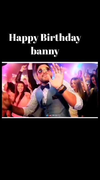 #alluarjun #happybirthday #best_bgm