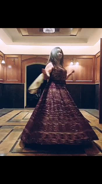 Throwback to my favourite #twirling days! What are you missing the most in the lockdown period?  #mdblogs #chandigarhfashionblogger  #chandigarhblogger  #ethnicwear  #gown  #weddingoutfits  #weddinginspiration  #punjabikudi  #throwback  #slowmotion  #twirlinggirl  #bollywood  #punjabisong #mohali  #chandigarh