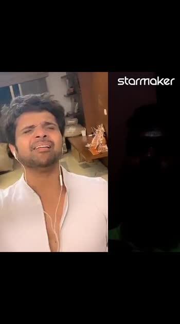 I published a song on #starmakerstudio , check out !  #justdoit #Tare_Meri with #himeshreshammiya Ji 😊