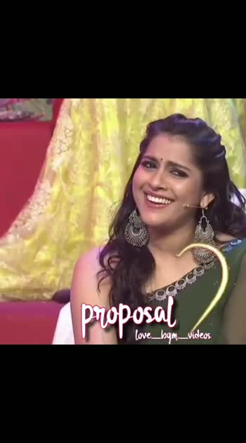 #sudheer-rashmi #sudigalisudheer #romanic_song #love_proposal