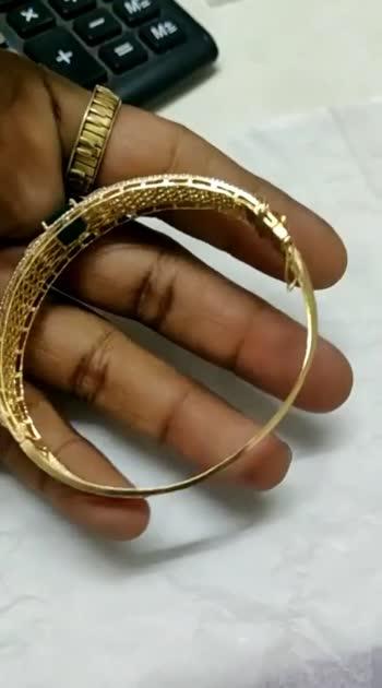 #Diamond bangles by Drishti jewels