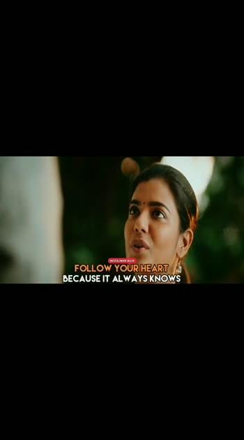 #followyourheart #vaanamkottattum #heart-touching #motivationalquotes #motivation