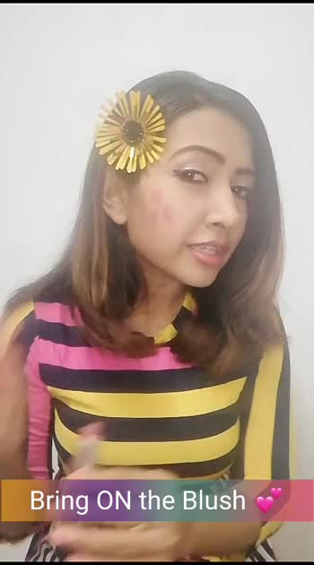 Here's #howto #look #pretty with #blush in 2 #quick steps using your #lipstick 💕  #beautifulgirl #beauty #beautyblogger #beautyhack #ropobeauty #ropobeautiful #roposo #ropostyle #ropostar #roposostars #ropobeats #ropobeat #ropogirl #ropostarschannel #ropochannel #ropocreativity