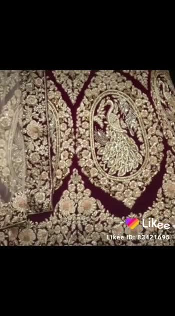 Raghav creation chandni chowk #lehnga #roposo #fashion #bridetobe #designer #bridal #girls #love #foryou #bollywood #