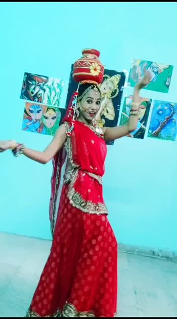 Rajasthani folk dance //chari// //ghoomer//  //tradition// #ropodance #dance #solo