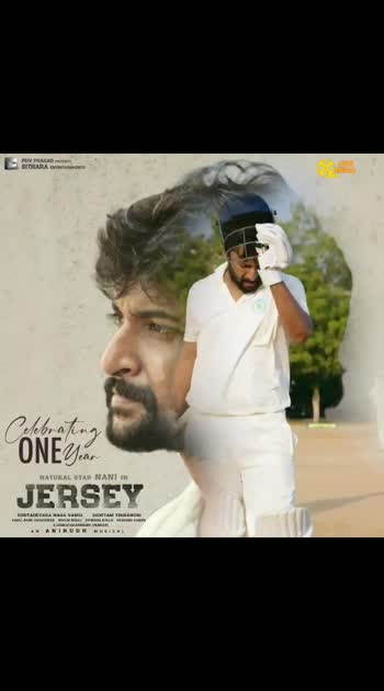 1Year For Jersey Movie   #1YearForJersey   #Jersey  #Nani #NaniTheNaturalStar #gautam tinnanuri #AnirudhRavichander