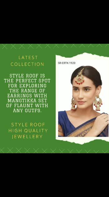 #traditionaljewellery #earrings #maangtikka