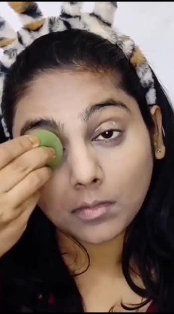 Indian Saree Makeup Look! #workfromhome #indiansaree #indianmakeupcommunity #indianmakeup