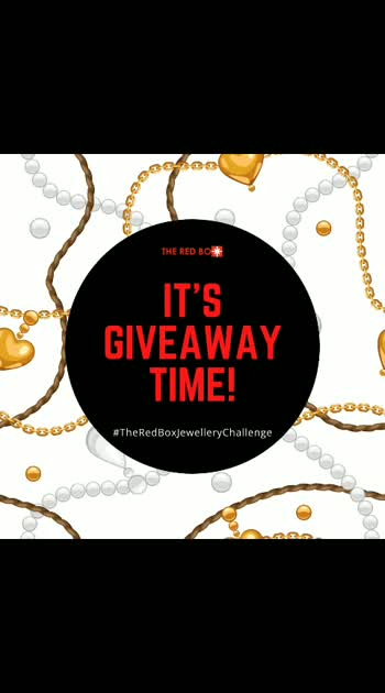 Getting bored in the Lockdown? Let the creative juices flow as vouchers worth Rs.2500, Rs.1500 & Rs.750 are up for grabs. All you have to do –  1) Follow @theredbox_official  2) Make innovative jewellery out of everyday household materials lying around 3) Click & upload your picture(s) wearing it  4) Tag Us & Use #TheRedBoxJewelleryChallenge  5) Tag & challenge 3 of your friends to participate  That's It! Most innovative designs & pics will win the contest. Remember to keep your profiles public & if private, please send us the screenshots. There are 3 slots & vouchers up for grabs. Entries close on the 3rd May & winners will be announced on the 6th May.  Get going! Best of Luck. We can't wait to see all the creativity…  PLZ don't spam us in DMs, winners' decision will be taken by our team collectively & cannot be challenged. . . . . . #theredbox #lockdownlife #giveaway #contest #lockdowngiveaway #giveawaycontest #lockdowncontest #lockdownchallenge  #creativityinlockdown
