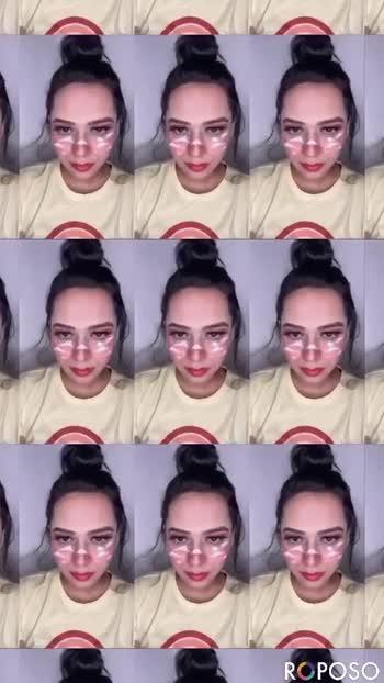 Cloud makeup #makeup #makeupartist #makeupartistsworldwide #makeupartistbangalore #roposostar #roposo