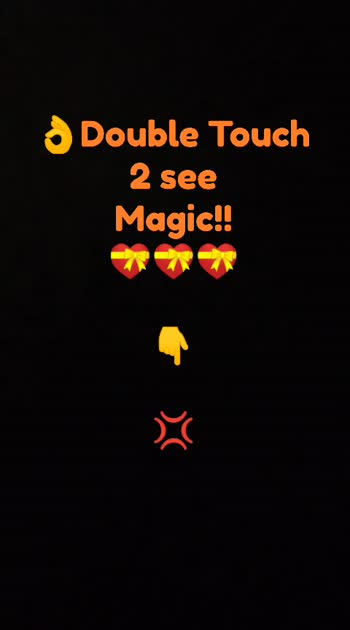 2 touch 2  c magic....