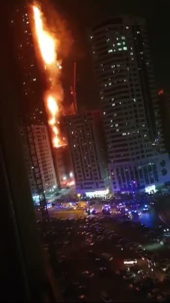 Dubai 48 th floors Buildings fire