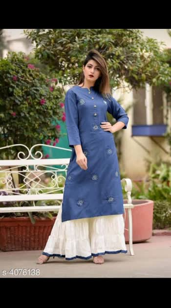 700 Only Cash on delivery Women's Rayon Kurta Set Kurta Fabric: Rayon Bottomwear Fabric: Rayon Fabric: Rayon Sleeve Length: Three-Quarter Sleeves Set Type: Kurta With Bottomwear Bottom Type: Palazzos Pattern: Kurti - Printed, Palazzo - Solid Multipack: Single Sizes:  Kurti - M - 38 in, L - 40 in, XL - 42 in, XXL -44 in, Palazzo - M - 30 in, L - 32 in, XL - 34 in, XXL - 36 in *Please note that this product will only be delivered in Orange and Green Zone Pincodes (as identified by the government of India)*