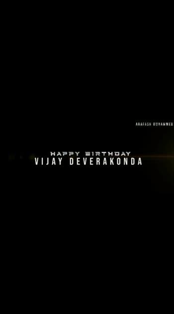 HBD #vijaydevarakondafc
