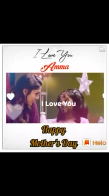 Happy Mother's day.......I Love U Mom