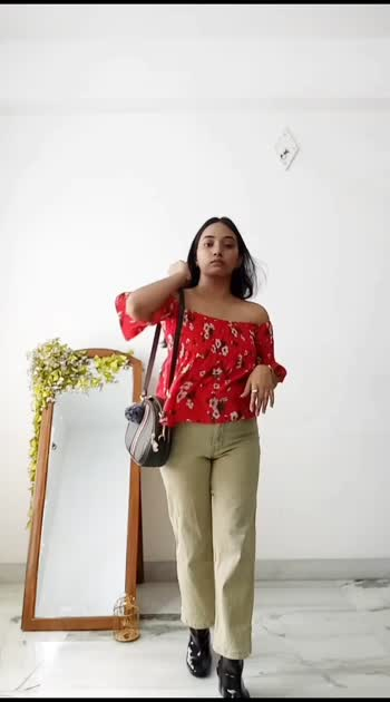 how to wear your one trouser in different ways #style #fashionvideos