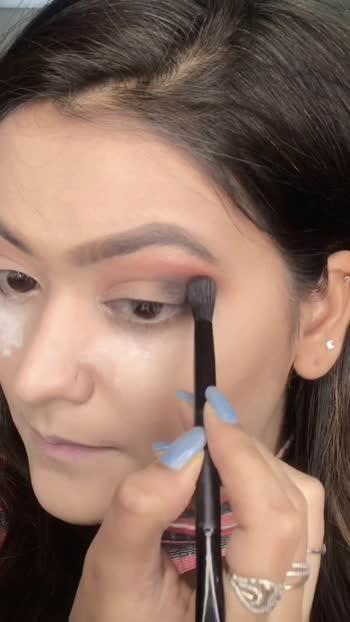 Indian Makeup Look ✨ Part-2 ❤️ #indianmakeup #risingstar #roposostar #roposo #makeuptutorial #makeupart #indianglam #blueabdgolden #styleaddictgirl #khyatikansari #makeuptutorials #makeup