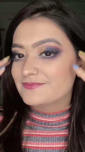 Indian Makeup Look ✨ Part-3 ❤️ #indianmakeup #risingstar #roposostar #roposo #makeuptutorial #makeupart #indianglam #blueabdgolden #styleaddictgirl #khyatikansari #makeuptutorials #makeup
