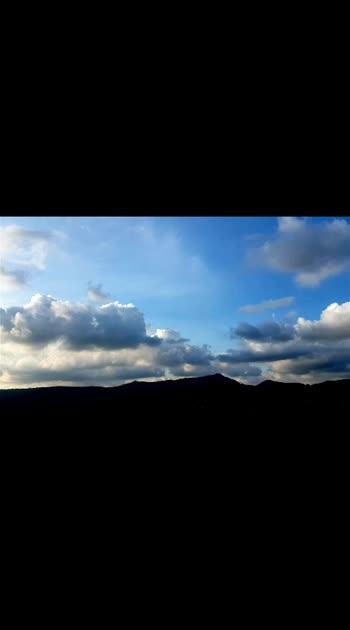 Nature love❣️ ☁️☁️ . . . . . . . #nature  #photography  #videography  #skyphotography #skylovers  #rainbow  #timelapse  #hillstation  #summer  #rainyday  #tamilnadu  #naturephotography #naturevideo  #hyperlapse #hyperlapsevideo