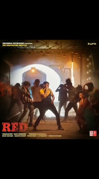 #Dinchak song #red #rampothineni #hebahpatel