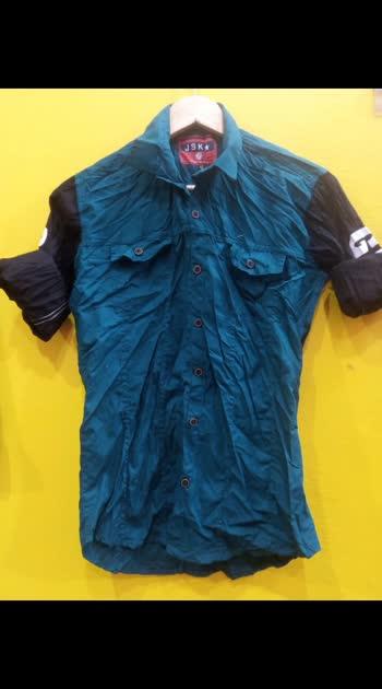 Shirts-Denim Design printed