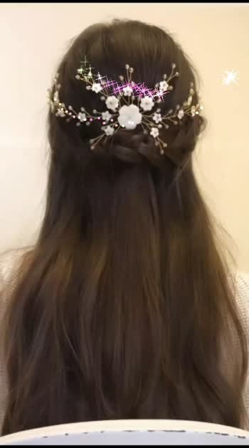 Hair style and hair hai accessories by @Angel_Looks