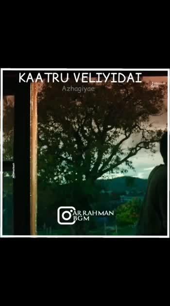 #manirathnam  #arrahmanmusic
