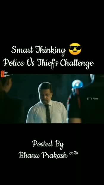police Vs thief #telugu-roposo #filmistaanchannel #telugu #tiktiktik