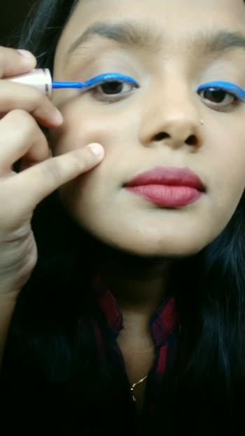 DOUBLE WINGED EYELINER TUTORIAL ❤ #makeup #makeupartist #makeuptutorial #makeupartistsworldwide #blogger #influencer #risingstar #risingstars #roposo #makeupblogger