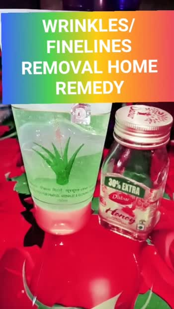 Wrinkles Remove Home remedy very simple easy steps 🤗 #beautytips #fashion