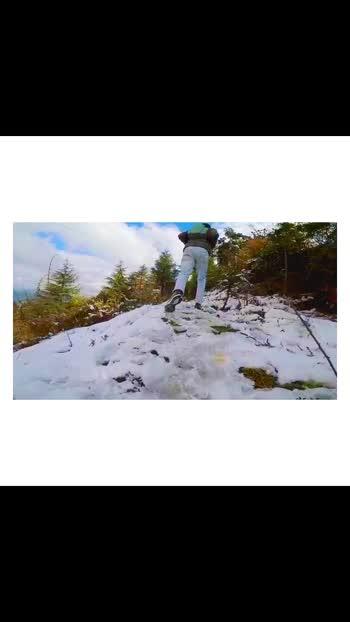 #mountains #snowfall #nike #gopro #goproindia #mussoorie