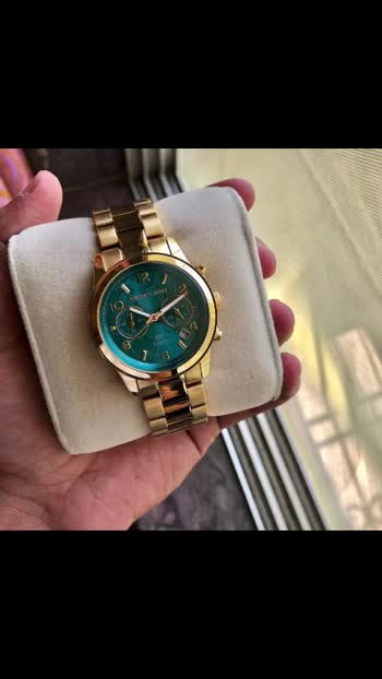 ❤️ *Michael Kors 100 Series* ❤️   * Michael Kors * For her * 7A * Original model 100 Series * Feature- -Round case -working chronograph Green Dail -12 hr dial analog -Fully metal  -Hi tech metal scratch resistant chain -Original Quartz Machinery  *With Brand Box 📦 *  *Available @ ₹2700/- Free Shipping*  🌹