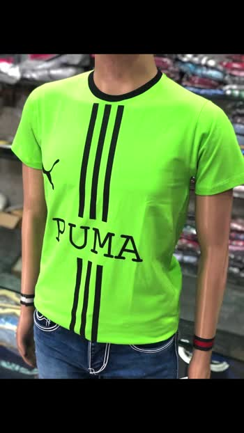 *🔱NEW ARRIVALS🔱*   * 2020 MENS ROUND NECK REPLICA TEES*  Brand: *PUMA*   Fabric: PREMIUM QUALITY COTTON SENSOR 4WAY LYCRA BIO WASHED   Sizes : *M38.  L40.  XL42.    XXL44*  Price : *825*  *Composition and care*  100% Cotton Machine wash  *Specifications *  •Short sleeves with ribbed hems •Short button placket •Slim fit •Original Tags & Trims •Embossed Buttons •Quality Guaranteed  *DISPATCHING READY*  *DO NOT COMPARE IPHONE WITH OPPO* 🌷😍