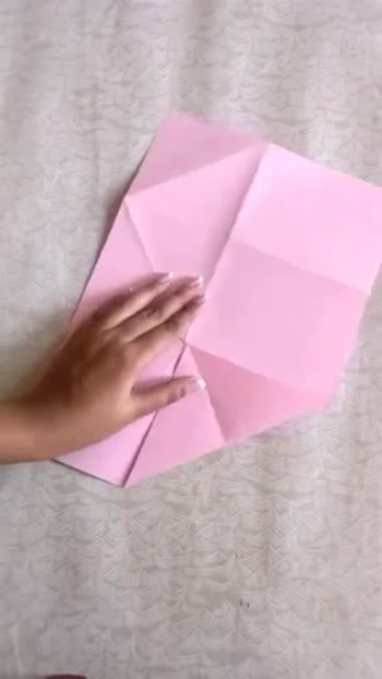 Patterned Origami envelope is here tutorials for this beautiful petal pattern envelope....so easy to make must try!