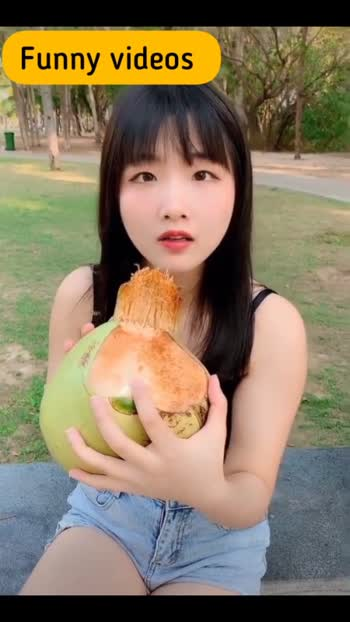#funnyvideo #chineselover #chinastyle #funnygirl #coconut #coconutoil