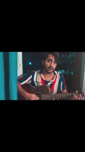 Hi Roposo, my first video of a beautiful romantic song  Enjoy #roposo #firstvideo #singer #songwriter #india #nototiktok #arrehman #gulshanjethwani