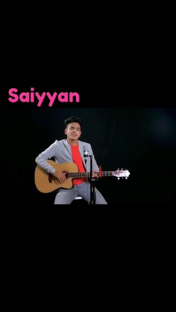 #Saiyaan #kailashkher #guitarcover #bollywoodsong #singingcover #singing #roposostar